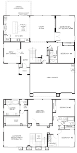 house floor plans two story with basement garage best loft ideas
