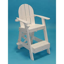 Recycled Adirondack Chairs Tailwind Recycled Plastic Small Lifeguard Chair Lg 505 Rocking