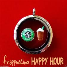 Charms For Origami Owl Lockets - origami owl starbucks frappuccino happy hour charms set origami