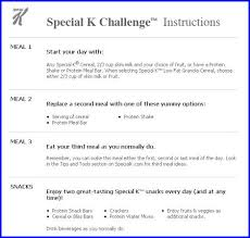 With Challenge The Special K Diet Can You Lose Weight With The Special K