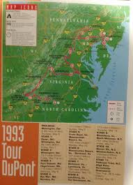 Route 95 Map by Racing Tour De Trump Tour Dupont Routes Bicycles Stack Exchange