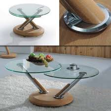 Glasses Coffee Table Tokyo Twist Oak And Glass Coffee Table I Want One Now