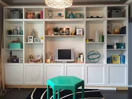Ikea Wall Unit Hack A Kailo Chic Life Build It Ikea Besta Built In Hack