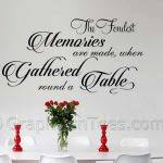 Quotes For Dining Room by Dining Room Quotes For Wall Beautiful Large Wall Decals For