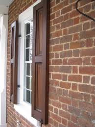 Federal Style Interior Decorating Home Exterior Shutters Exterior Shutters On A Federal Style Home