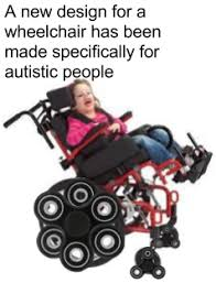 Wheelchair Meme - a new design for a wheelchair has been made specifically for