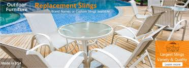 Patio Furniture Covers Toronto - replacement chair slings u0026 vinyl straps patio chair repair u0026 parts