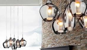 Cluster Pendant Light New Retro Pendant Lamp Vintage Chandelier Glass Shade Large