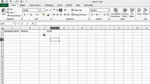 Sales Lead Tracking Spreadsheet How To Track The Recruiting Process In Microsoft Excel Ms Word