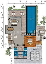 buy house plans lay4524 tropical modern villa with 3 bedrooms phuket buy house