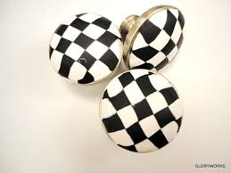 black and white cabinet knobs six nascar black white cabinet knobs knobs pinterest white