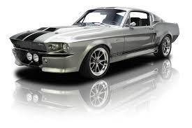 Black 67 Mustang Coupe 1967 Ford Mustang Rk Motors