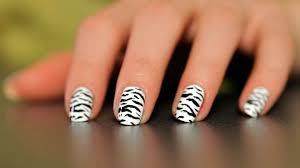 how to do a stripe nail art design with tape howcast the best