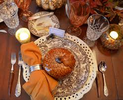 thanksgiving place setting thanksgiving table setting with nature themed centepiece