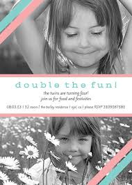 twin birthday invitations oubly com