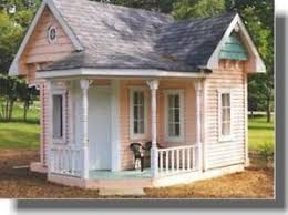 d i y shed log cabin summer play house barn garage plans