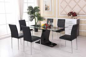 glass dining room table set glass dining room table caruba info
