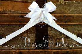 wedding dress hanger personalized bridal hanger custom wedding dress hanger for