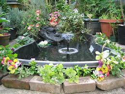 Decorative Pond Landscaping With Ponds And Fountains Spiritual Approach To
