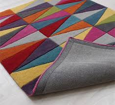 Multi Coloured Rug Uk Funk Triangles Multi Coloured Rugs Free Uk Delivery Capital Rugs