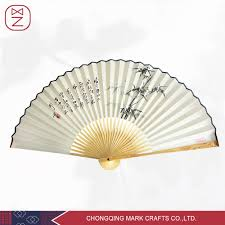 chinese traditional bamboo hand abanico fan hand painted fan
