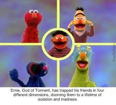 Sesame Street Memes - i don t remember sesame street being this dark by burdman meme
