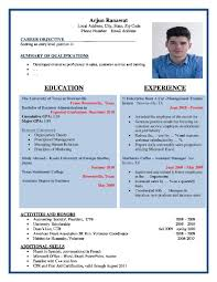 100 sample resume formats free download sample resume fresh