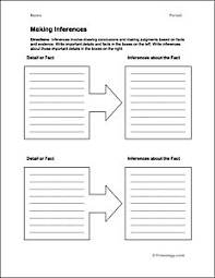 fun with inference worksheets inference lessons pinterest
