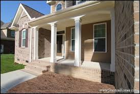 columns for front porch structural vinyl 4 design options curb