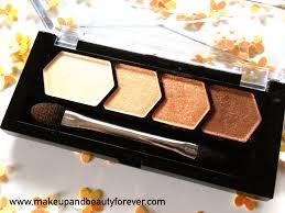 maybelline eyestudio glow eye shadow 01 copper brown
