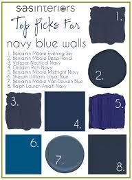 top paint picks for navy blue walls burger