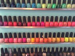 feature shop polished nail salon nosey parker okc