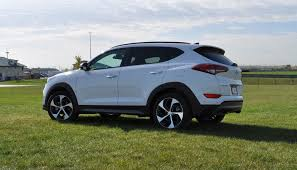 hyundai crossover 2016 2016 hyundai tucson limited 1 6t awd review