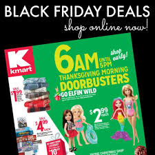 kmart thanksgiving doorbusters are live shop now for savings