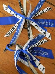 ribbon for hair that says gymnastics custom order for mdzurik 15 soccer pts rush out by monday