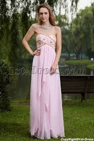 maternity evening wear pink and gold empire maternity evening dress img 7639 1st