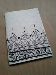 doodle doo india notebooks handmade in rice paper the illustrations on the cover
