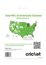 Metro Pcs Service Map by Amazon Com Cricket Wireless Prepaid Gsm Sim Card No Contract