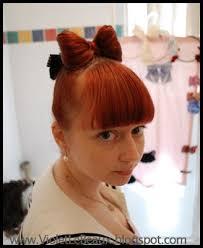 hair bow with hair gaga bow hair tutorial foto