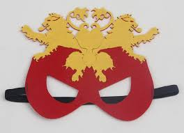 house lannister hear me roar mask kids superheros superman eye mask house
