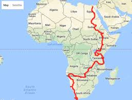 Gabon Africa Map by Review Friends Of Merinito Solo Bike In Africa
