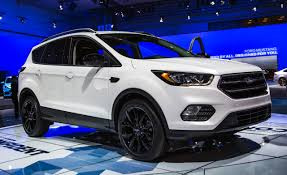 Ford Escape White - 2017 ford escape official photos and info u2013 news u2013 car and driver
