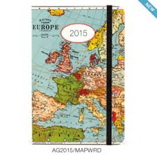 cavallini planner 2015 vintage maps weekly planner from cavallini available at