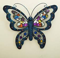 lovely design modern butterfly decorative wall hanging metal