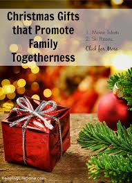 gifts that promote family togetherness keeping sane