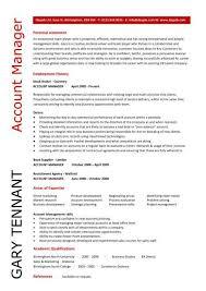 good resume for accounts manager job responsibilities duties account manager cv template sle job description resume