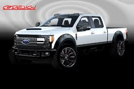 tensema16 ford shows off custom super duty raptor and transit
