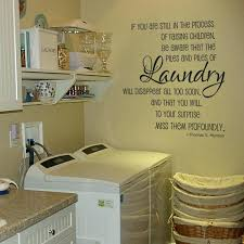 Wall Decor For Laundry Room Wall Decals Laundry Room Wall Ideas Laundry Room Wall Decor Ideas