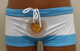 Argentina Flag Photo Men U0027s Argentina Flag Swim Briefs Argentinian Bandiera Soccer