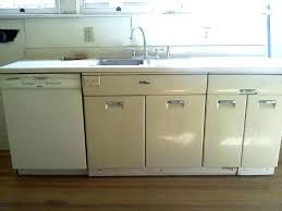 Metal Cabinets For Kitchen Metal Kitchen Cabinets Pterodactyl Me